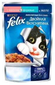 Феликс Двойная вкуснятина с рыбой