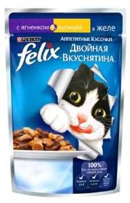 Феликс Двойная вкуснятина с курицей