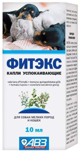 Упаковка Капли Фитекс