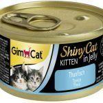 GimCat для котят с тунец