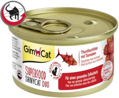 Корм Суперфуд тунец и томаты