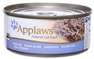 Корм Консервы для кошек океаническая рыба