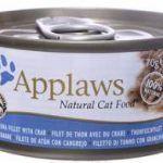 Корм Консервы для кошек тунец и крабовое мясо