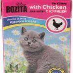 Мини Кусочки с курицей для котят