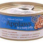 Корм Кусочки в желе для взрослых кошек сардинки и креветки
