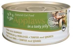 Корм Кусочки в желе для взрослых кошек тунец и капуста