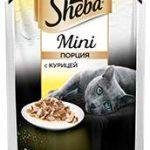 Корм для кошек Шеба мини с курицей