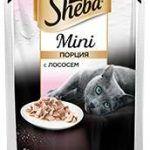 Корм для кошек Шеба мини с лососем