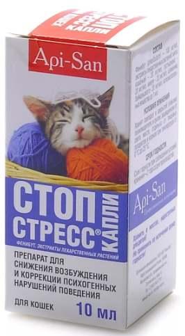 Капли Стоп стресс котенок