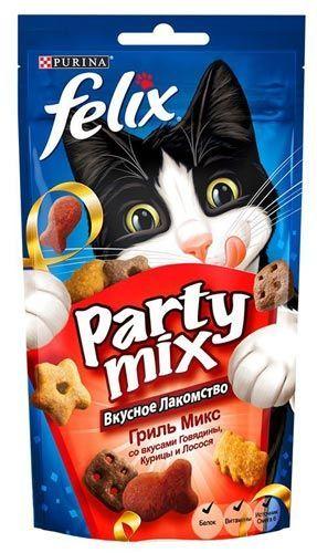 Purina Felix Party Mix Гриль