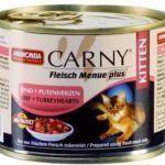 Carny для котят с сердцем индейки и говядиной