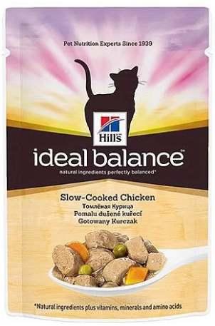 Корм Ideal Balance с курицей