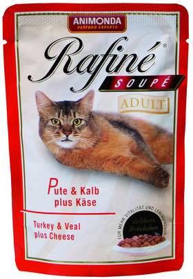 Корм Рафине с индейкой, телятиной и сыром