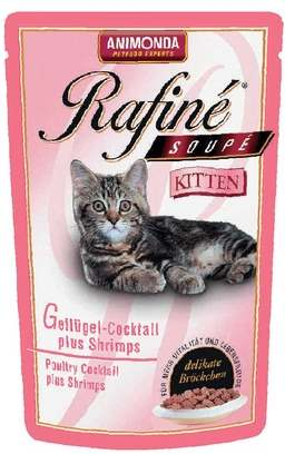 Корм Рафине для котят с птицей
