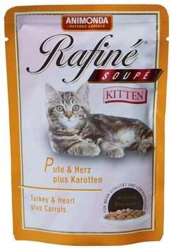 Корм Рафине для котят с индейкой
