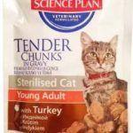 Корм Feline Sterilised Cat Young Adult с индейкой