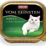 Корм Vom Feinsten с индейкой и кроликом