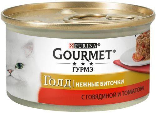 Голд Нежные биточки говядина и томаты