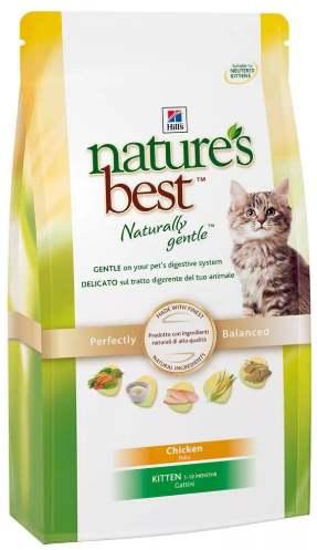 Hill's Nature's best для котят с курицей