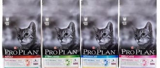 Корм для кошек Про План