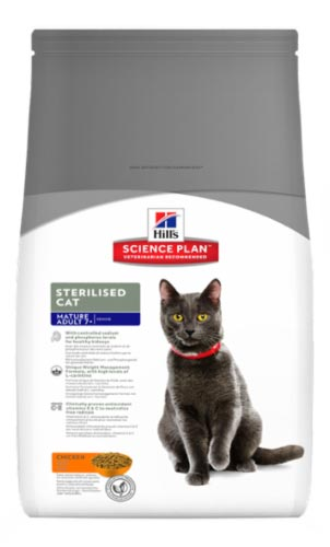 Sterilised cat для взрослых
