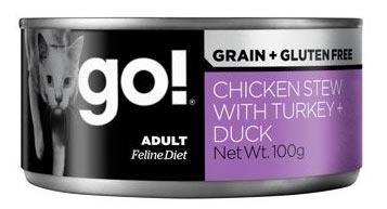 Chicken Stew with Turkey + Duck