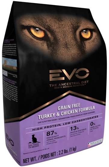 Корм для кошек EVO