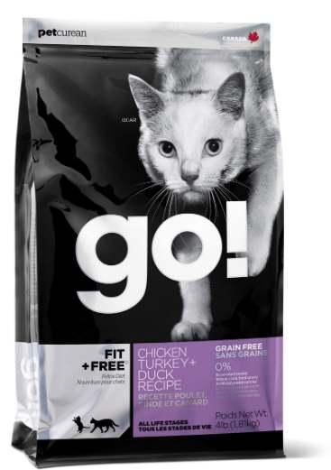 Корм для кошек Go