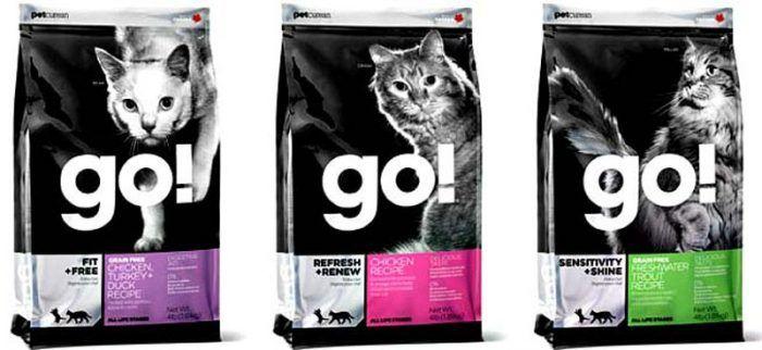 Корма для кошек Гоу