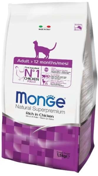 Корм для кошек Monge
