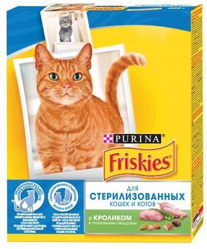 Для стерилизованных кошек и кастрированных котов с крольчатиной и овощами