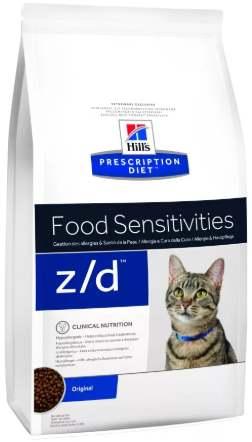 Сухой корм при аллергии для кошек