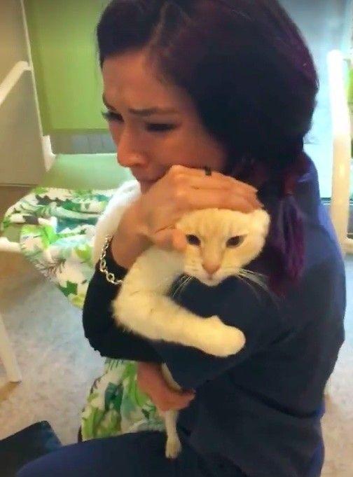 Айрис нашла своего любимца