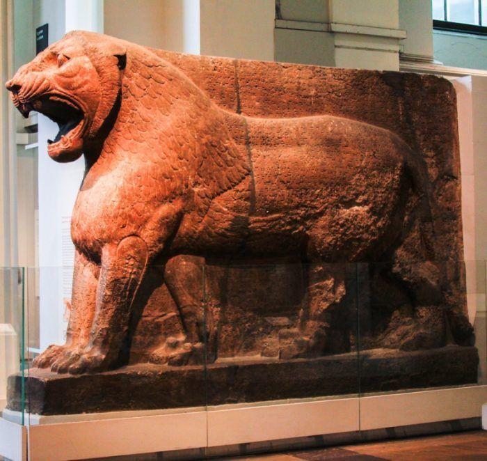 Лев в Британском музее