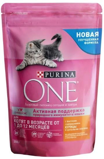 Корм Purina One для котят