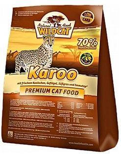 Karoo с кроликом, домашней птицей