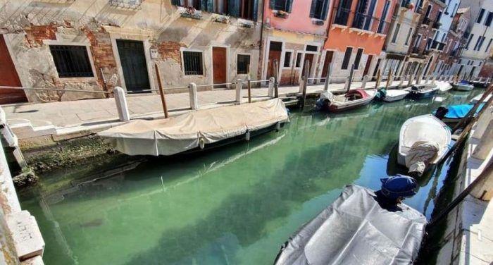 Чистые каналы Венеции