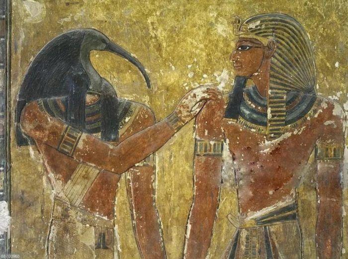 Настенные рисунки египтян