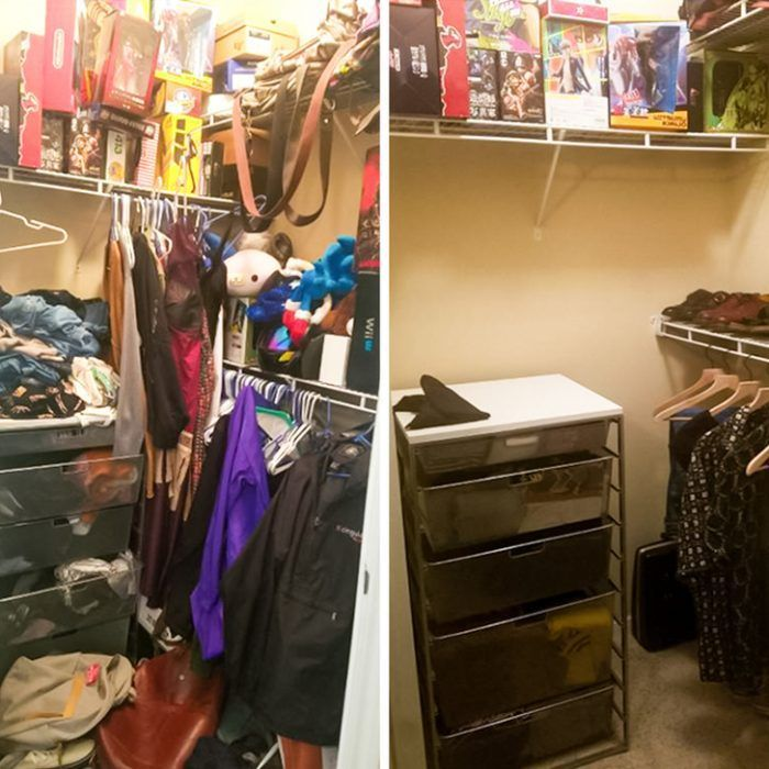 разборка в гардеробе