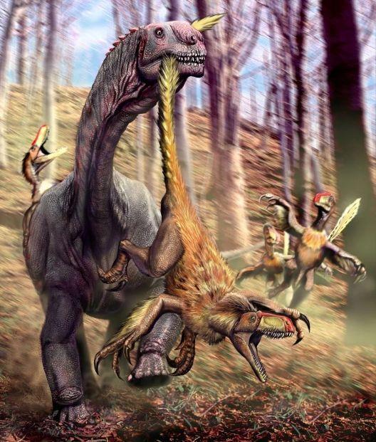 Борьба динозавров