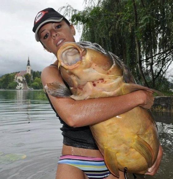 Большая рыбка