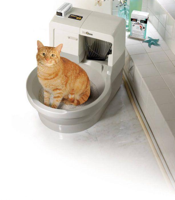 Автоматический робот-туалет