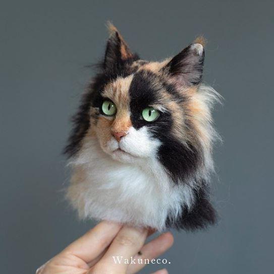 Котик очень реалистично