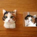 Кошечка 3d-портрет