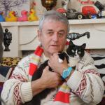 Котик Перш и его хозяин